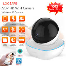<b>LOOSAFE 2MP V380 APP</b> Home Security IP Camera WIFI Network ...