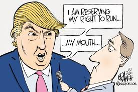 Image result for funny pro-donald trump cartoons