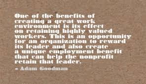 Good For Work Environment Quotes. QuotesGram via Relatably.com