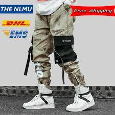 <b>Hip Hip Streetwear Men's</b> Camouflage Joggers <b>Pants</b> 2019 <b>Men</b> ...