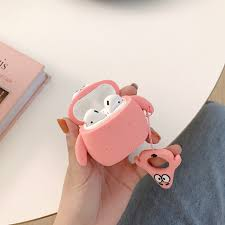 <b>3D Cute Earphone Case</b> for Airpods 2 Case Anime Baby Silicone ...