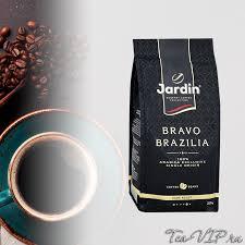 <b>Кофе</b> в зернах <b>Жардин Браво</b> Бразилия 250 гр пакет | с доставкой