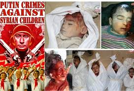 Image result for putin and death of children