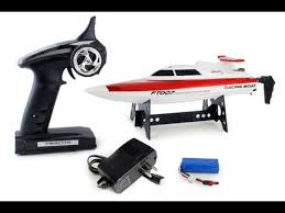 FT007 4-Channel <b>2.4G High Speed</b> Racing <b>RC Boat</b> - YouTube