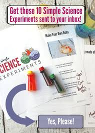 15 Very <b>Simple</b> Science Experiments (Using What You Already ...