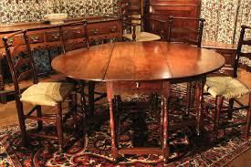edwardian oak gate leg dining antique oak gateleg dining table th century