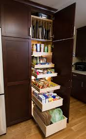 Kitchen Cabinet Slide Out Tall Kitchen Cabinets With Pull Out Shelves Monsterlune