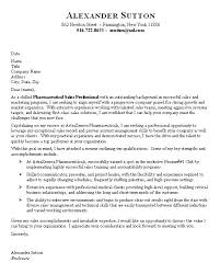 pharmaceutical sales cover letter sample sales cover letters samples