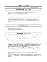 executive assistant sample resume skills  socialsci coadministrative assistant job resume sample
