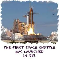 「NASA launches Columbia , the first space shuttle, in 1981」の画像検索結果