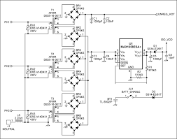 energy meter circuit diagram the wiring diagram reference design for an energy meter using the maxq3180 maxq3183 circuit diagram