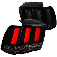 Spec-D Tuning 1999-2004 Ford <b>Mustang</b> Glossy <b>Black</b> Sequential ...