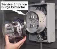how to choose surge protection for your home part 1 service panel surge protection surge protection behind electric meter