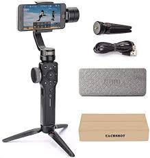 <b>Zhiyun Smooth 4</b> 3-Axis Handheld Gimbal Stabilizer: Amazon.co.uk ...