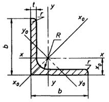ГОСТ 8509-93 <b>Уголки</b> стальные горячекатаные равнополочные ...