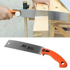 1PC <b>Folding</b> Steel Wood Cutting Survival Hand <b>Saw</b> 7Teeth per Inch ...