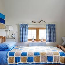 room cute blue ideas: cute room ideas for girls with blue gingham curtain and teak bed frame cute room ideas