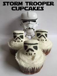 Storm Trooper Cupcakes | Recipe | Cupcake recipes, <b>Star wars</b> food ...