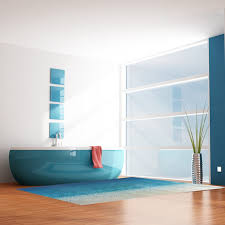 top selling removable diy blue ocean sea beach floor sticker decals living room bedroom home bathroom beach office decor