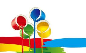 نتیجه تصویری برای عکس از رنگ در صنعت چاپ
