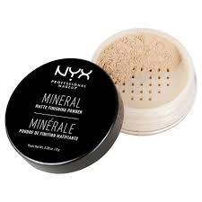 Пудра <b>NYX Professional Makeup Фиксирующая</b> минеральная ...