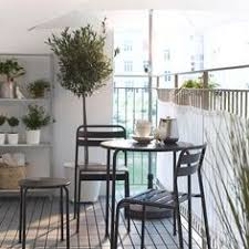 modern balcony furniture ideas by ikea with small round table and chairs balcony furniture