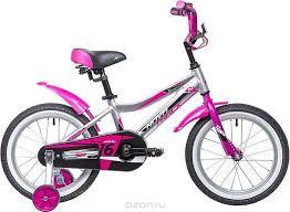 """Купить <b>Велосипед Novatrack Novara</b>, серебристый, <b>16</b>"""" в ..."""