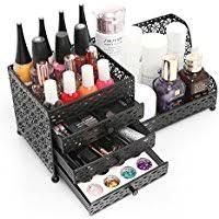 tier makeup cosmetic caddy jewelry kitchen black metal jewelry amp cosmetics storage drawer