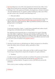 essays english for you my%20perfect%20wedding 1 jpg