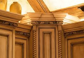 kitchen moldings: adding crown molding to existing kitchen cabinets