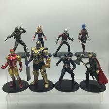 <b>8Pcs</b>/<b>set Avengers</b> Endgame Action Figures toys <b>Marvel Avengers</b> 4 ...