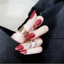 24PCS/SET <b>Fashion Fake</b> nails <b>full cover</b> nail patch nail art Halal ...