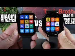 <b>Xiaomi Watch Color</b> vs <b>Xiaomi</b> Mi <b>Watch</b>: Round or Square Dial ...