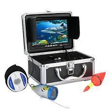 7 Inch 1000tvl Underwater Fishing Video Camera Kit <b>12 PCS</b> LED ...