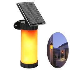 2019 <b>Solar</b> Flame Lamp Waterproof <b>Solar</b> Power Flickering Flame ...