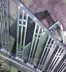Custom Stair Railing Stair Rails Interior Sunset Metal Fab Inc