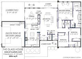 FREE Contemporary House Plan  FREE Modern House Plan   The House      house plan  floorplan
