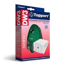 <b>Бумажный пылесборник</b> Тopperr <b>DW</b> 3 для пылесосов (1469797 ...