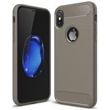Купить <b>Чехол</b> для iPhone <b>EVA</b> силикон. iPhone X/Xs Серый ...