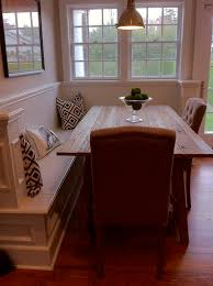 dining table interior design kitchen: corner bench with dining table this could be perfect as a half wall in our