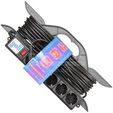 <b>Удлинитель</b> на рамке <b>PowerCube 5</b> розеток 3х1 мм, 10 м в ...