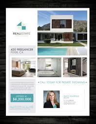 design a real estate flyer lancer 16 for design a real estate flyer by maitane