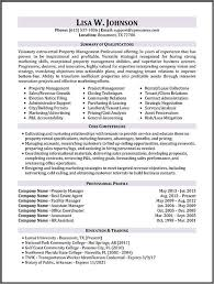 Resume Samples   Types of Resume Formats  Examples and Templates Property Manager Resume Sample