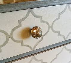 painted patterns on furniture quatrefoil and chevron chevron painted furniture