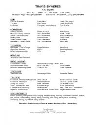 actors resume format sample internship cover letter examples actors resume format sample internship cover letter examples musical theatre resume sample musical theatre resume template