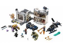 Купить <b>конструктор Lego Супер</b> Герои Битва на базе Мстителей ...