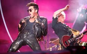 Resultado de imagem para queen e adam lambert tocou rock in rio 2015