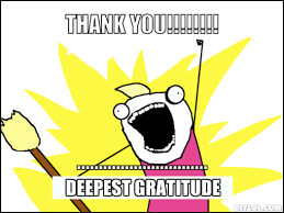The Gratitude Meme. Not Just For Thanksgiving. | Rock+Paper+Music via Relatably.com