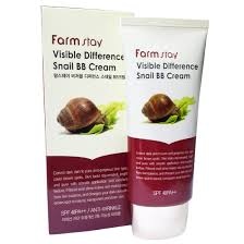 [SALE] <b>FARMSTAY Visible Difference</b> Snail BB Cream SPF50+ PA ...