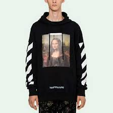 Buy Cheap Off White Mona Lisa <b>Printing</b> Black <b>Hoodie</b> for Sale ...